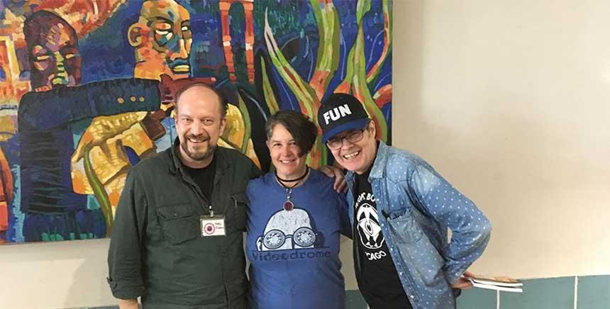 Poets: Marc Vincenz, Alison Ross, Jeff
